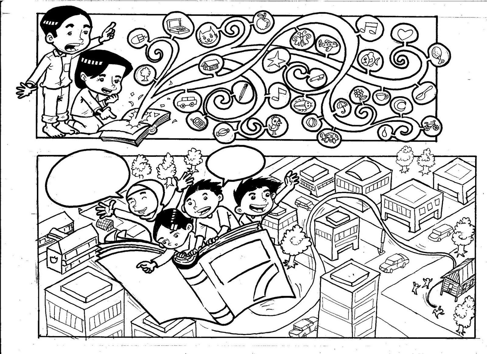 Melukis itu penawar design mural for Contoh lukisan mural tadika