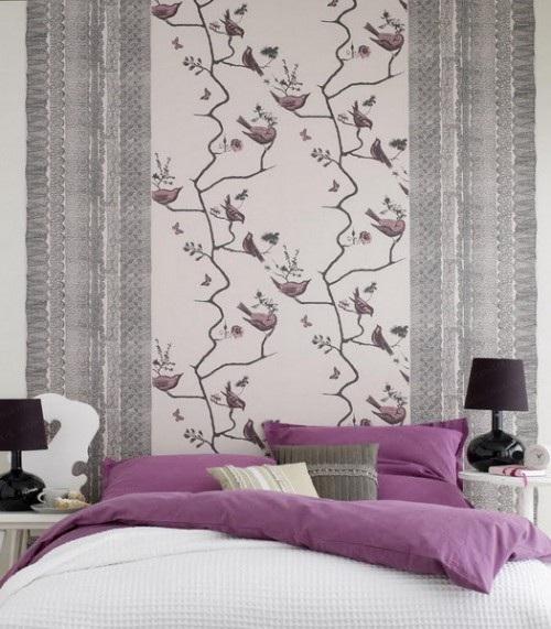 tambin encontrars papel tapiz para las paredes con diseos en alto relieve que aadirn un punto focal interesante y profundidad al dormitorio with papel tapiz
