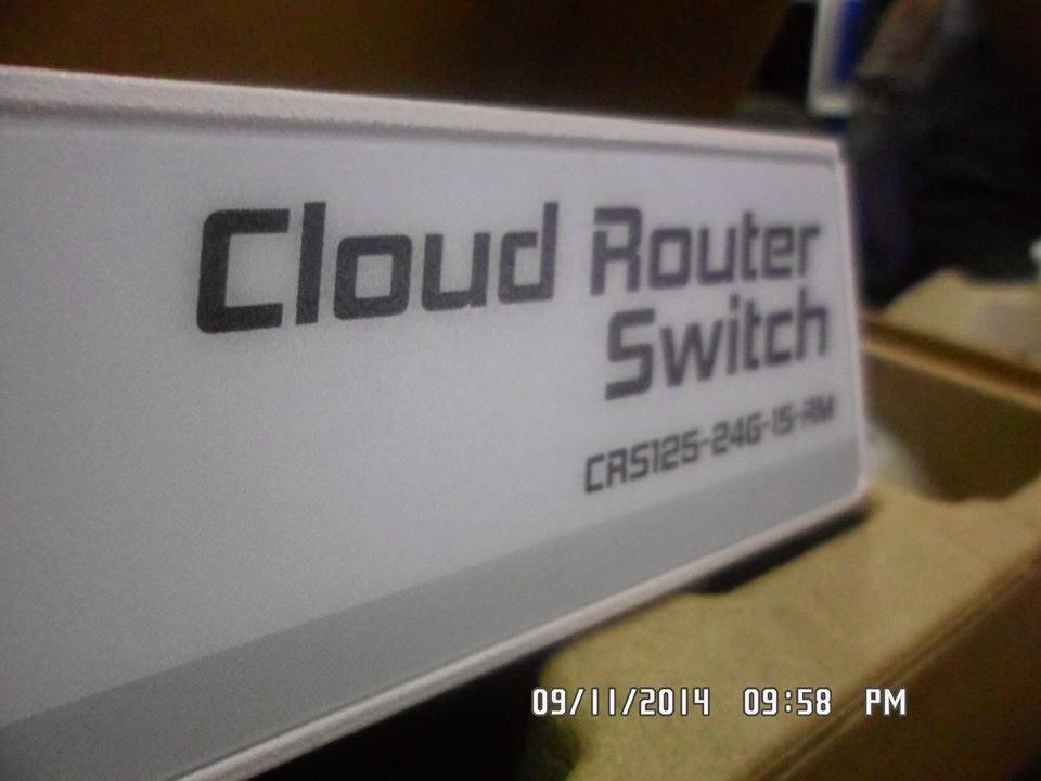 دمج ميكروتيك احترافى 24 خط انترنت بالتساوى Cloud Router