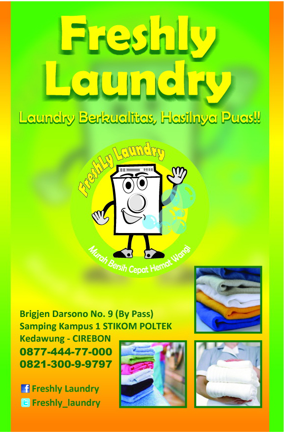 Freshly Laundry Cirebon DARTAR HARGA LAUNDRY KILOAN