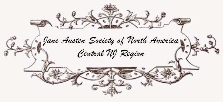 Jane Austen Society of North America-- Central New Jersey Region