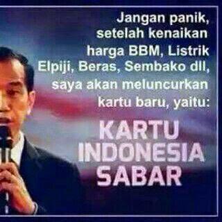 Kartu Indonesia Sabar