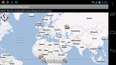 Custom MapView