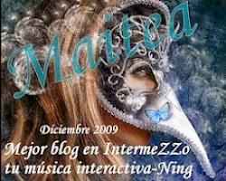 Premio Intermezzo a mi primer blog.