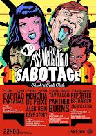4º aniversário Sabotage Rock Club