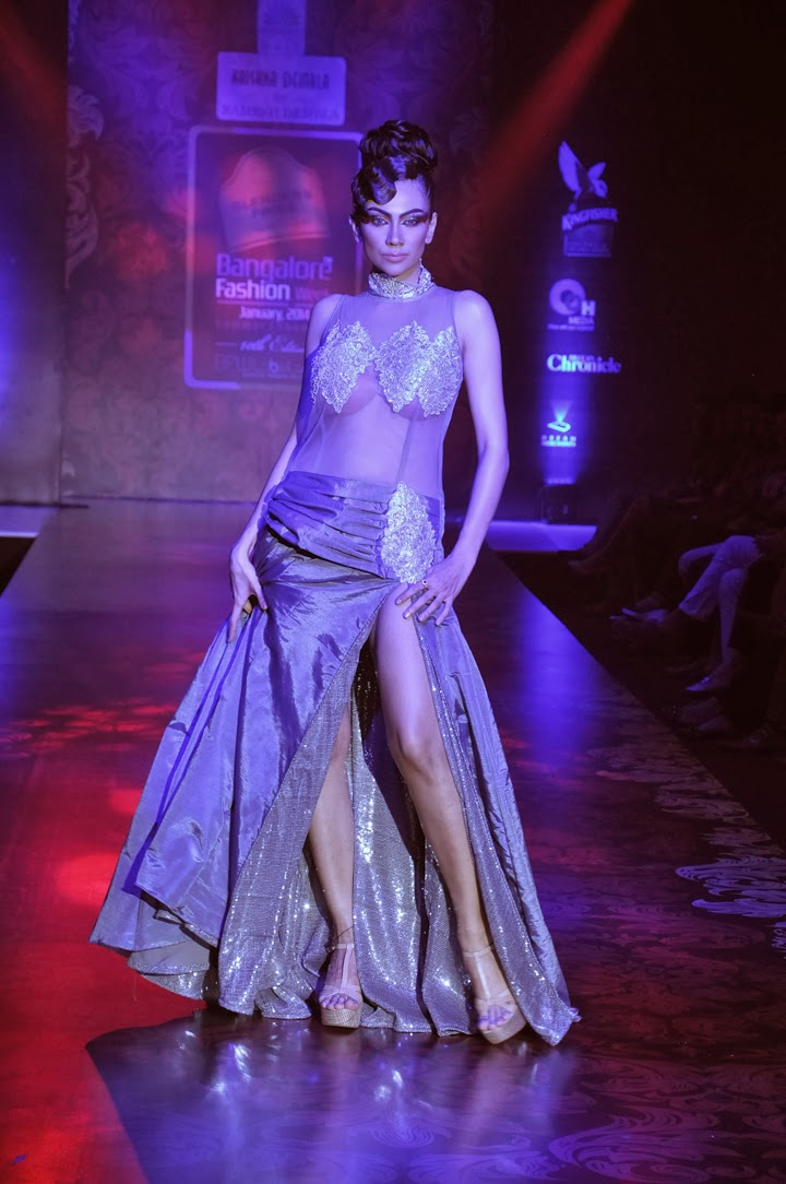 Blenders pride bangalore fashion week ramesh dembla stylish by nature by shalini chopra Bangalore fashion style week