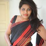Sitara Hot Photos in Saree at Gundello Guchi Guchi Champake Movie Press Meet 45