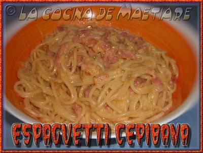 Espaguetti Cepibana Espaguetti+cepibana