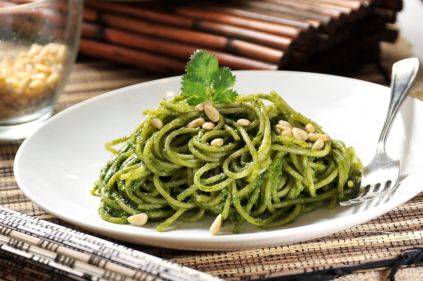 Spaguetti Verde a la Romana