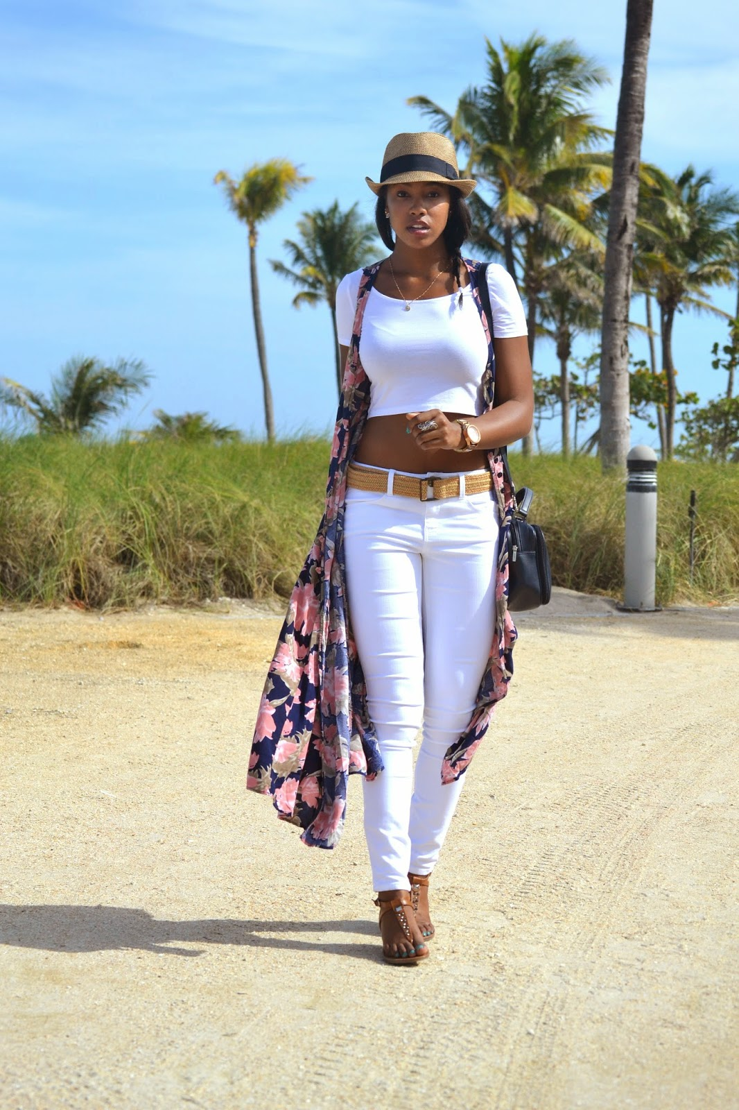 fashion blogger florida vacation style