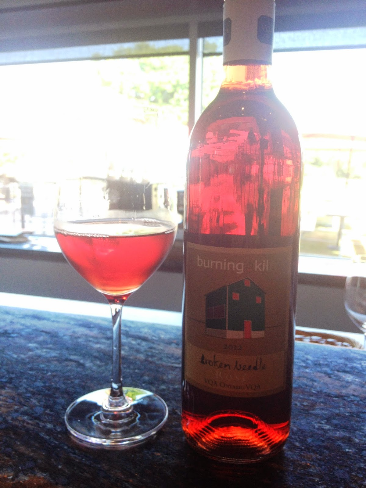 Burning Kiln Winery Rose