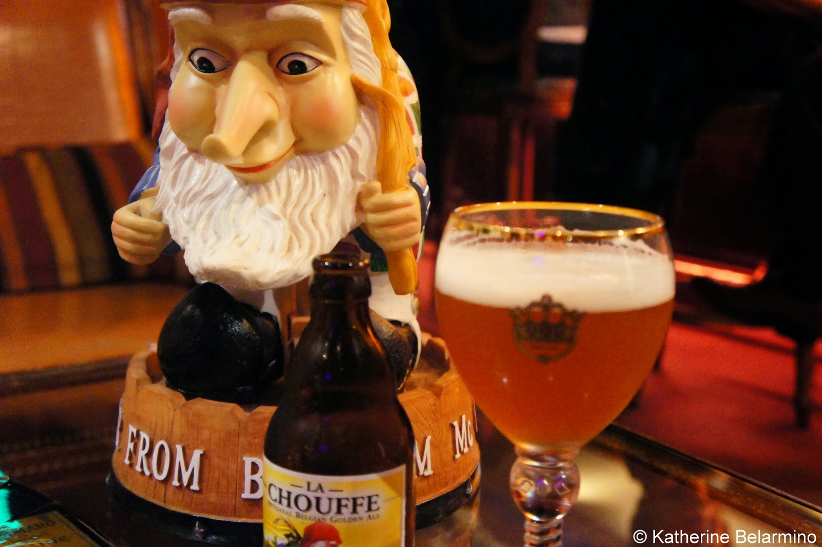 La Chouffe Belgian Beer at Patrick's Bar Vin New Orleans
