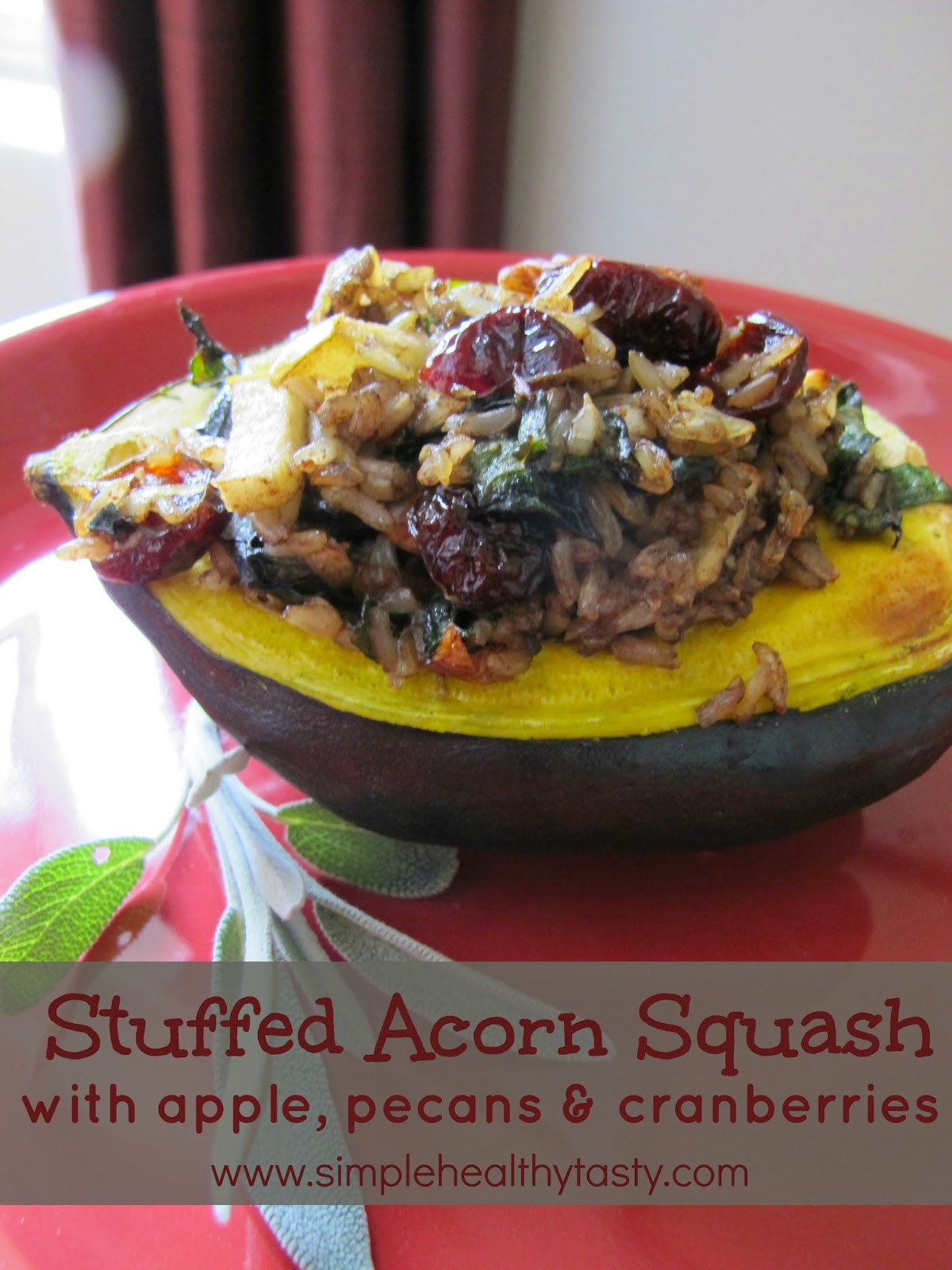 Acorn squash baked with pecans - Cook and Post