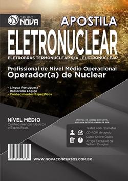 Apostila Impressa Eletronuclear 2016 - Operador(a) de Nuclear