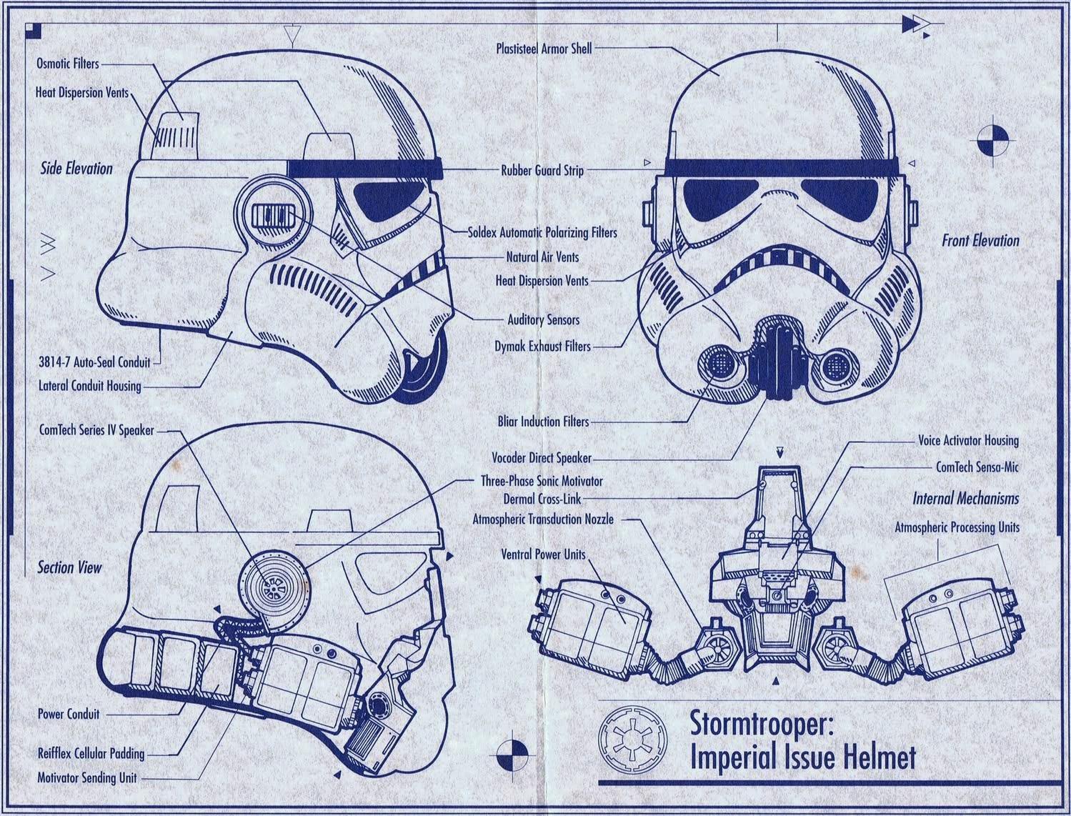 dali lomo star wars stormtrooper helmet diy cardboard free template. Black Bedroom Furniture Sets. Home Design Ideas