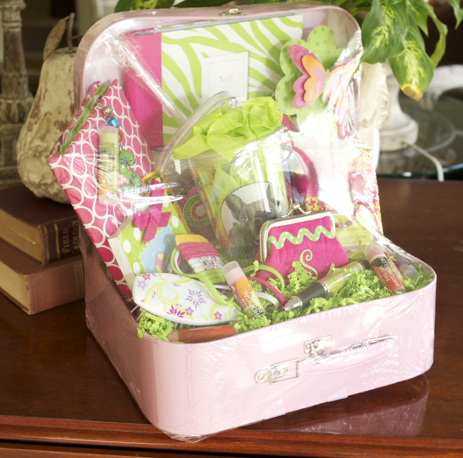 ideas and inspiration for creative living making gift baskets, Birthday card