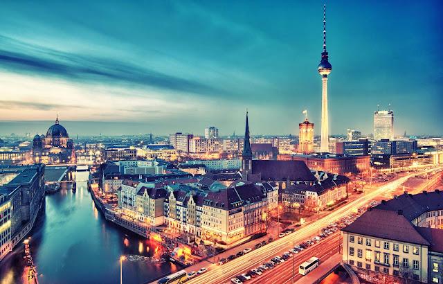 Viajar de trem de Londres a Berlim
