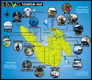 peta pulau weh