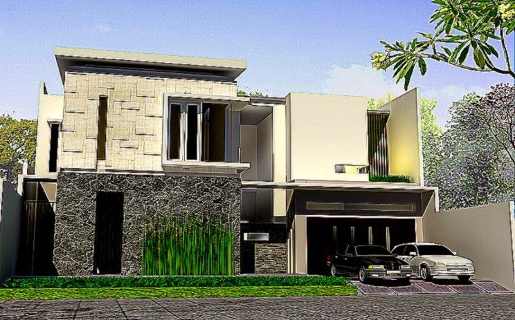 Desain Rumah Minimalis Modern Dengan Sentuhan Taman