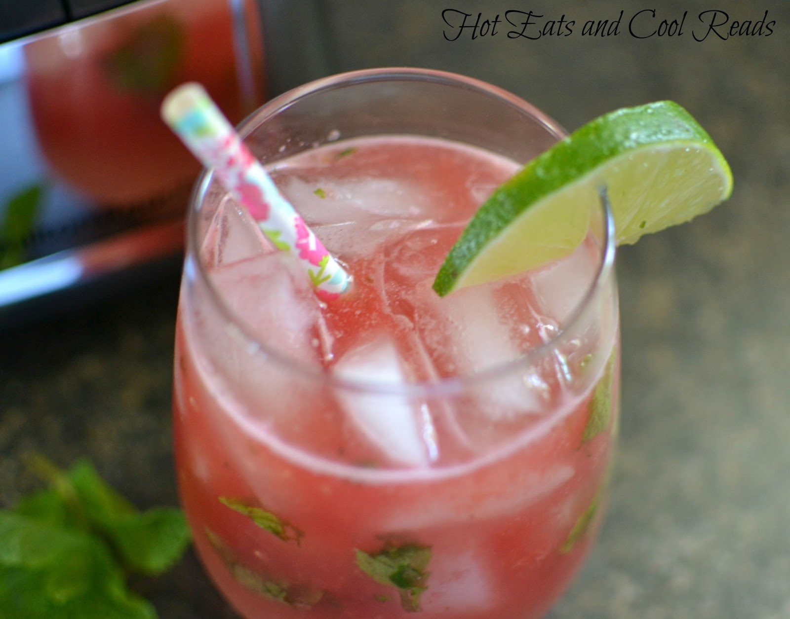 ... Eats and Cool Reads: Watermelon Mint Lemonade Recipe plus Giveaway