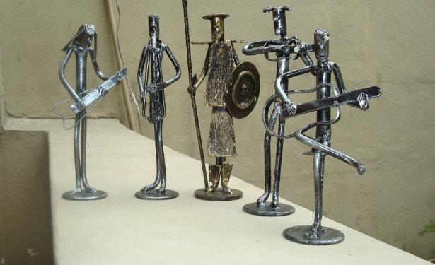 Recycled Art Scrap Metal Art Modern Source Of Interior