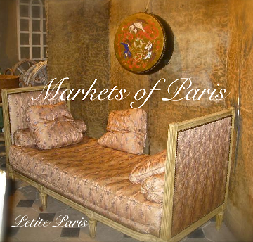 Get our 'MARKETS OF PARIS' ebook, Only $4.99 for ipads.
