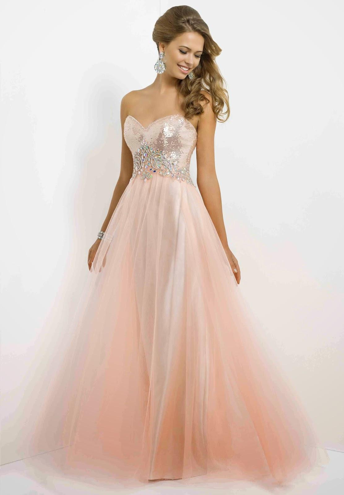 Elegantes vestidos largos de fiesta