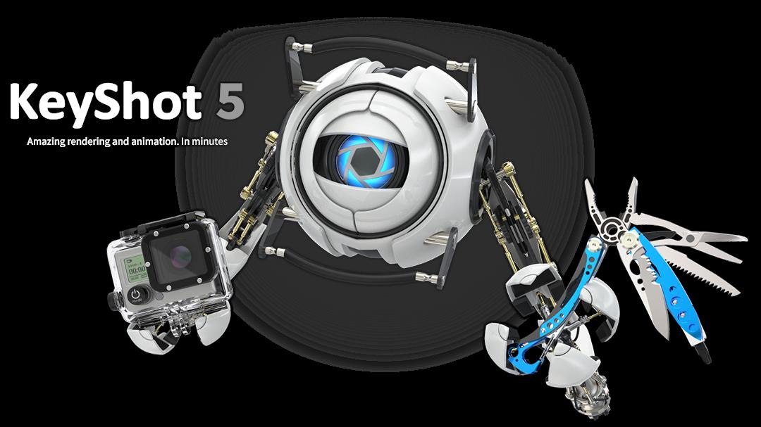 Keyshot 5 Pro + Medicine FULL