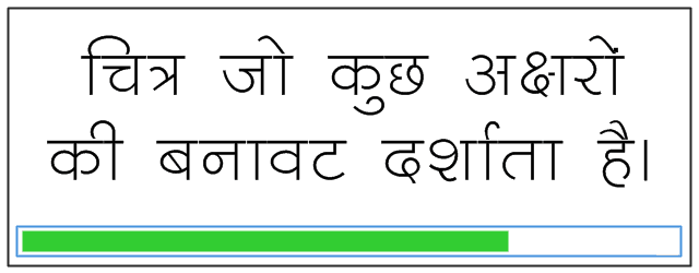 chandra text hindi font