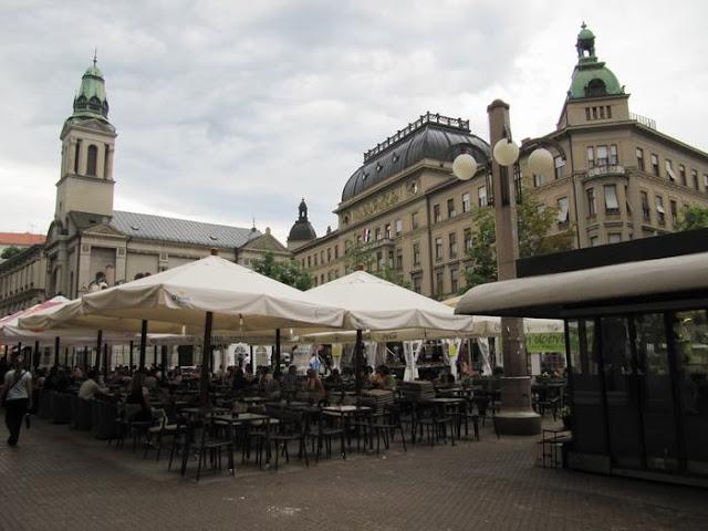 plaza Petra Preradovica zagreb