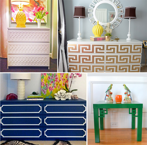 They Re Made From Pvc And Are Paintable Lightweight Panels That Add Decoration To Your Furniture