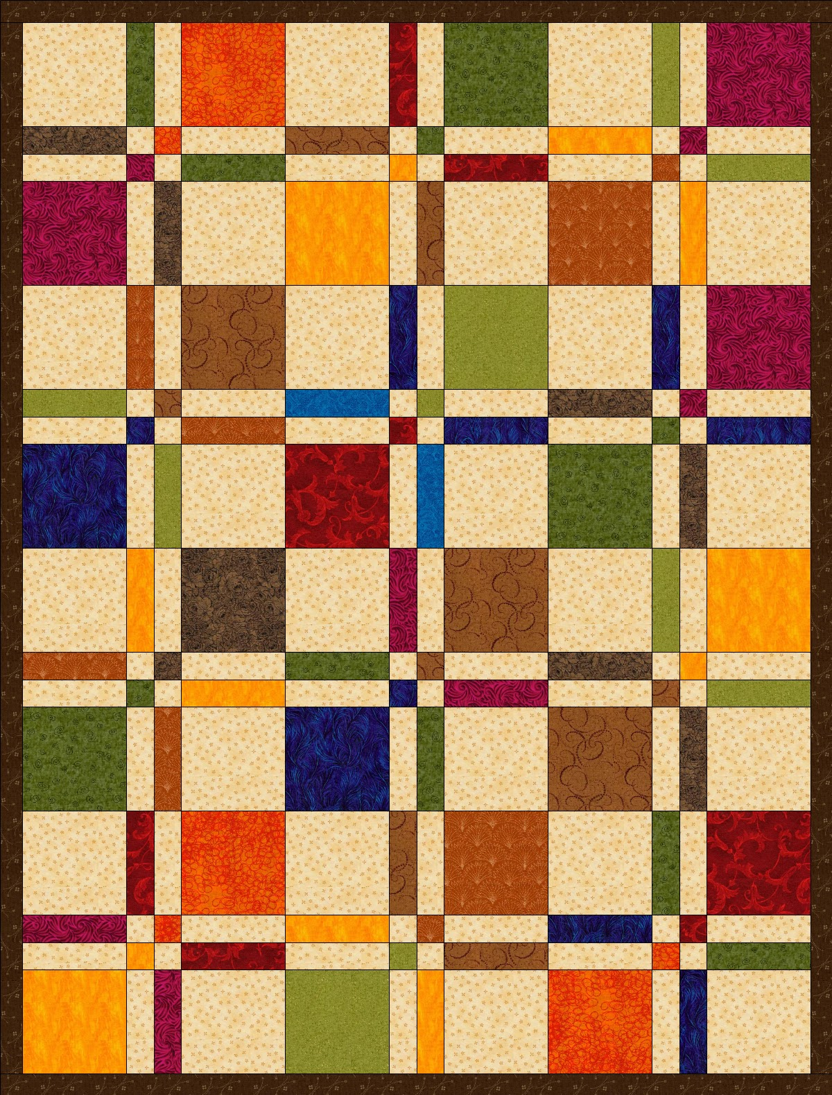 Chock-A-Block Quilt Blocks: Disappearing 4-Patch : 4 patch quilt patterns free - Adamdwight.com