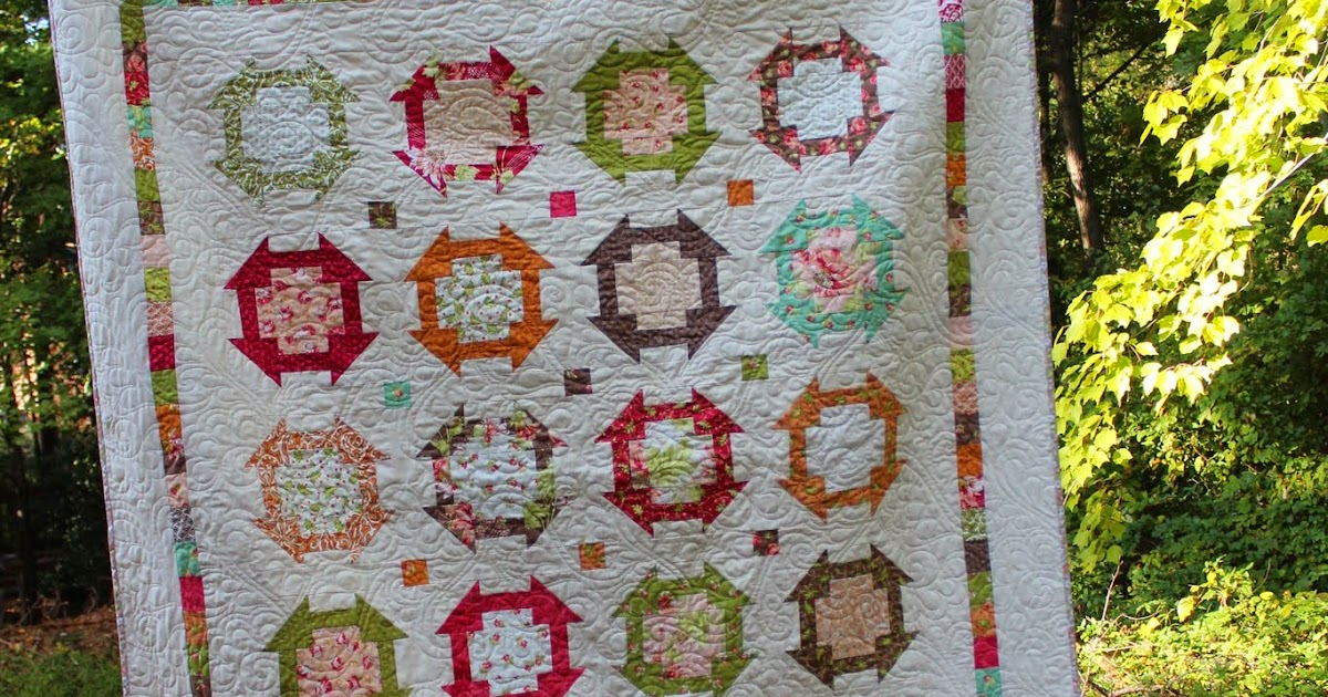 New Quilt Patterns For 2015 : Blogger s Quilt Festival - New Hampshire A Stitch in Time