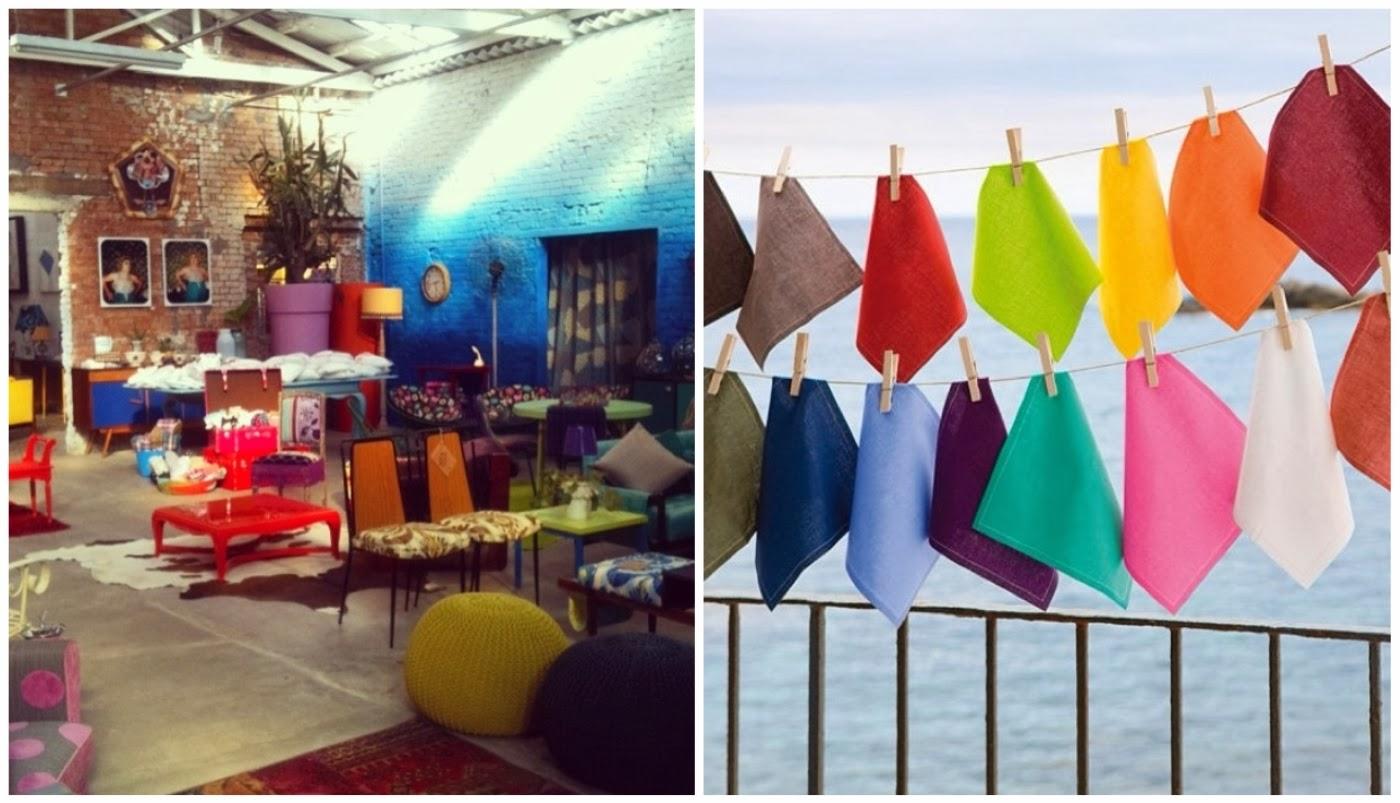 peças de decoração do @estudiogloria e guardanapos de tecido @coisasdadoris
