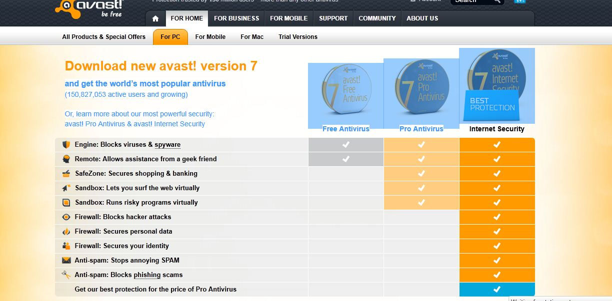 avast antivirus free download for xp old version