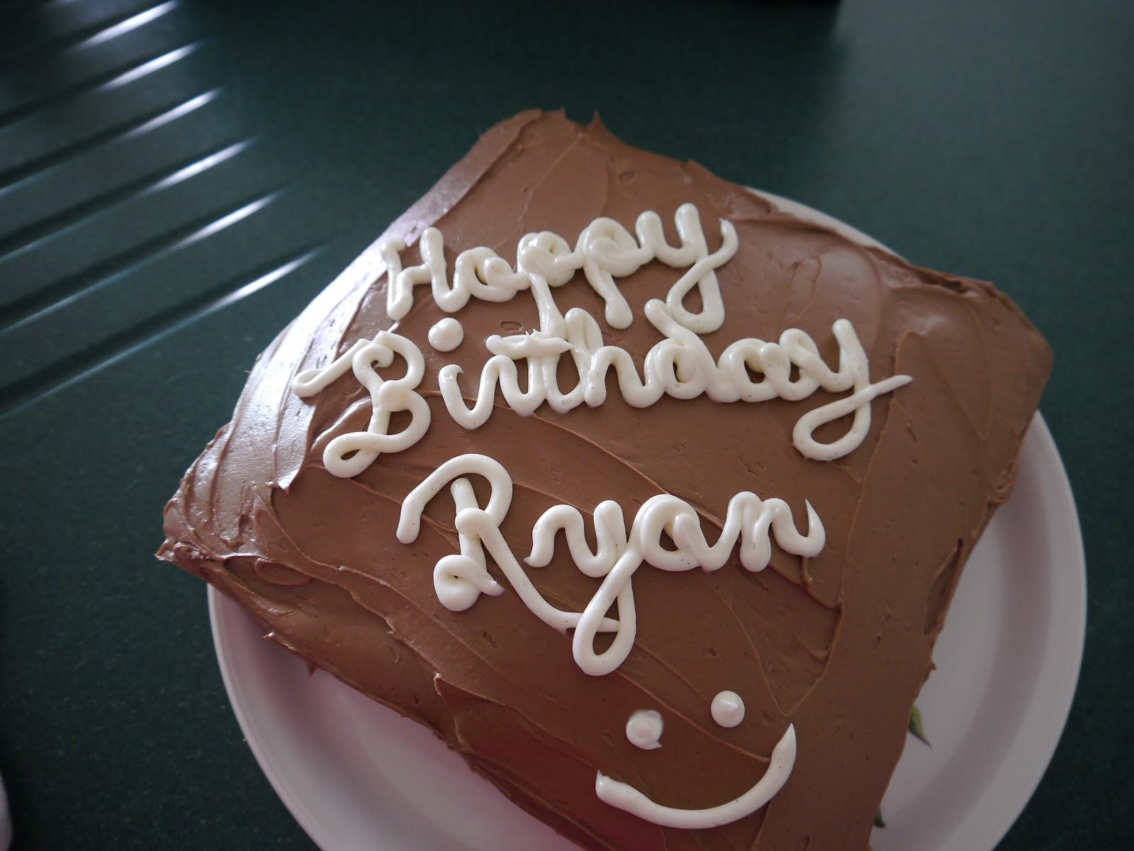 Cucina Divina Happy Birthday Ryan