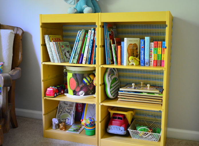 Ikea Trofast Wooden Shelves ~ Ikea Trofast Bookcase Hack