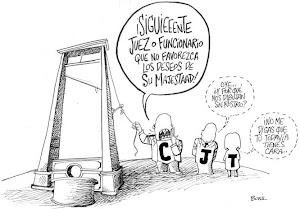 LANATA LE MUESTRA QUIÉNES SON LOS JUECES DELINCUENTES...