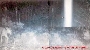 Nouveau-Mexique: un mystérieux rayon de lumière enregistré par une caméra de surveillance, 3-1-2014