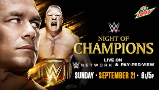 WWE - Night of Champions (21/09/2014)