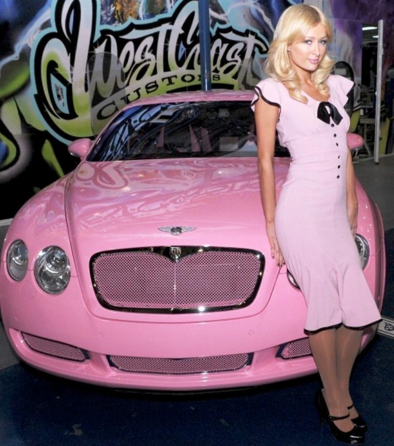 2012 Pink Bentley Continental GT