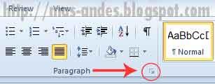Mengubah Font dan Paragraph Spacing Default Ms Word 2010