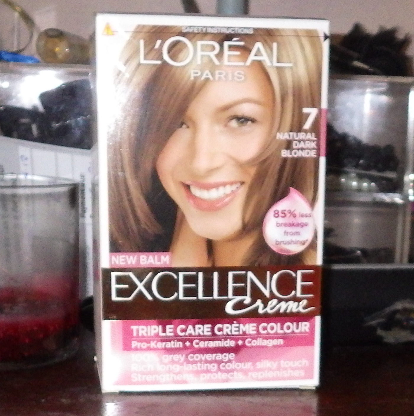 Pretty Tacky Loreal Excellence Crme In Natural Dark Blonde 7