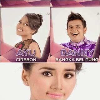 lagu-lagu konser Dangdut Academy 21 besar dari Ayu,Titik dan Danny
