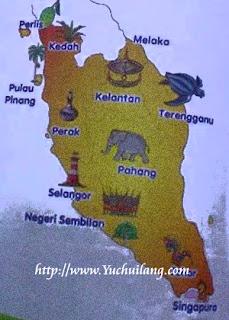 Peta Semenanjung