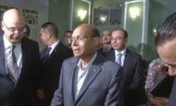Moncef Marzouki participe à l'emprunt national