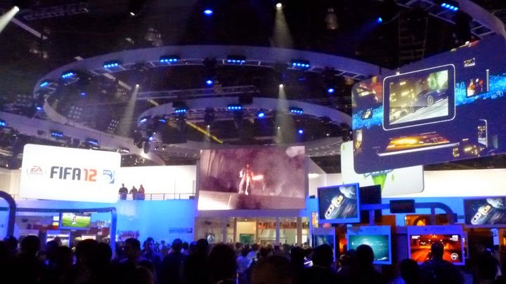 EA FIFA fans gaming high tech Los Angeles Convention Center