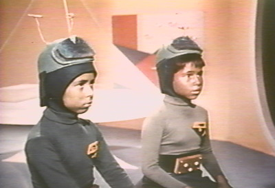 Martian children in Santa Claus Conquers the Martians http://movieloversreviews.blogspot.com/2012/12/santa-claus-conquers-martians-1964.html