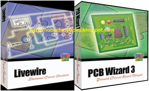 Download Software Desain PCB menggunakan Livewire PCB