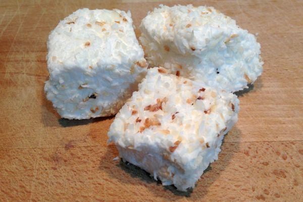 Vegan Marshmallows Coconut and Malibu